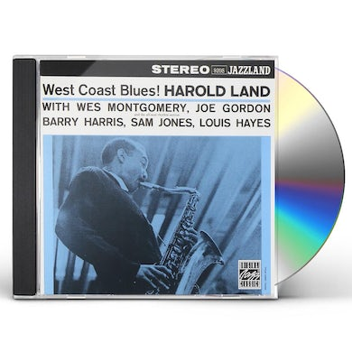 Harold Land WEST COAST BLUES CD