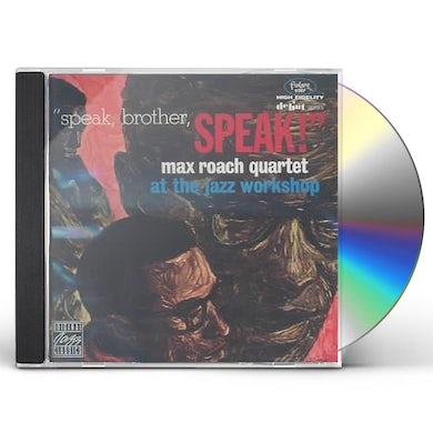 Max Roach SPEAK BROTHER SPEAK CD