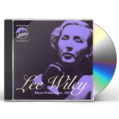 Lee Wiley MUSIC OF MANHATTAN 1951 CD