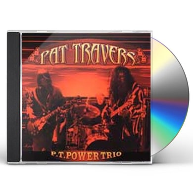 Pat Travers PT POWER TRIO CD