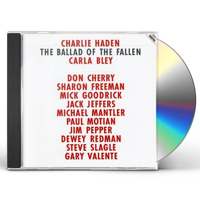 Charlie Haden BALLAD OF FALLEN CD