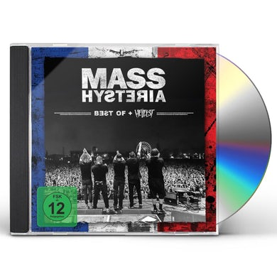Mass Hysteria Best Of / Live At Hellfest (3 CD/DVD Combo) CD