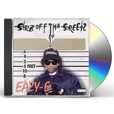 Eazy-E STR8 OFF THA STREETZ OF MUTHAPHUKKIN COMPTON CD
