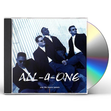 All-4-one AND THE MUSIC SPEAKS CD
