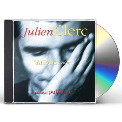 Julien Clerc AMOURS SECRETES PASSION PUBLIQUE CD