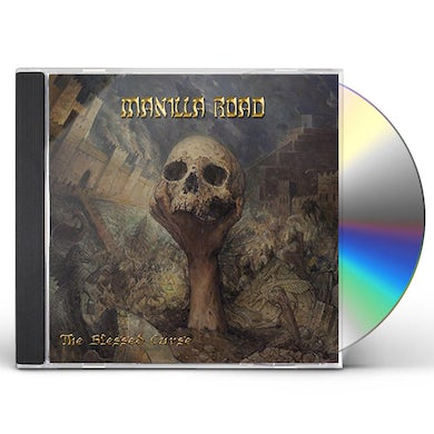 Manilla Road BLESSED CURSE / AFTER THE MUSE CD