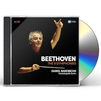 Daniel Barenboim BEETHOVEN: 9 SYMPHONIES CD