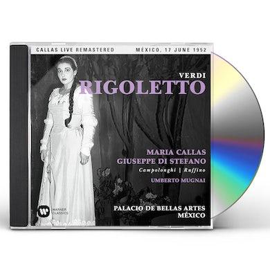 Maria Callas VERDI: RIGOLETTO (MEXICO 17/06/1952) CD