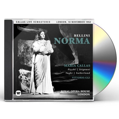 Maria Callas BELLINI: NORMA (LONDON 18/11/1952) CD