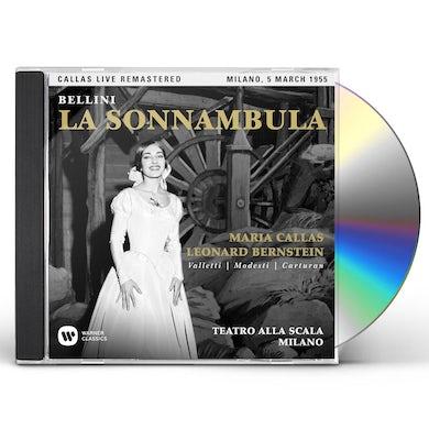 Maria Callas BELLINI: LA SONNAMBULA (MILANO 05/03/1955) CD