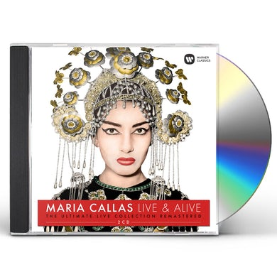 Maria Callas ULTIMATE LIVE COLLECTION (REMASTERED) CD