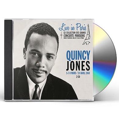 Quincy Jones LIVE IN PARIS 5 7 & 9 MARS/19 AVRIL CD