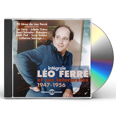 INTEGRALE LEO FERRE ET SES INTERPRE CD