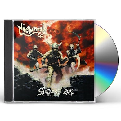 Nocturnal STORMING EVIL CD