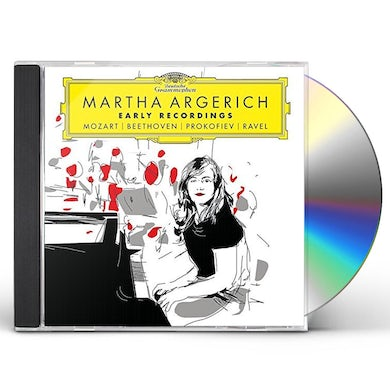Martha Argerich EARLY RECORDINGS CD