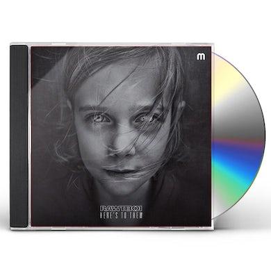 Rawtekk HERE'S TO THEM CD