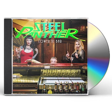 Steel Panther LOWER THE BAR CD