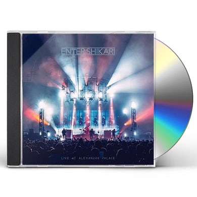 Enter Shikari LIVE AT ALEXANDRA PALACE CD