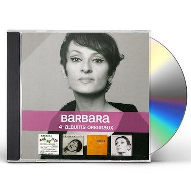 BARBARA 4 ORIGINAL ALBUMS CD