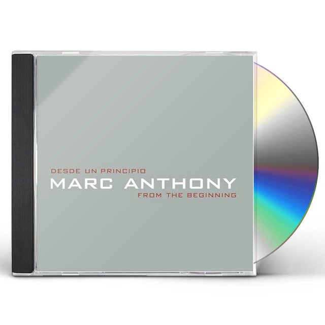 Marc Anthony DESDE UN PRINCIPIO: FROM THE BEGINNING CD