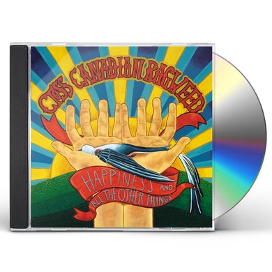 Cross Canadian Ragweed HAPPINESS & ALL THE OTHER THINGS CD