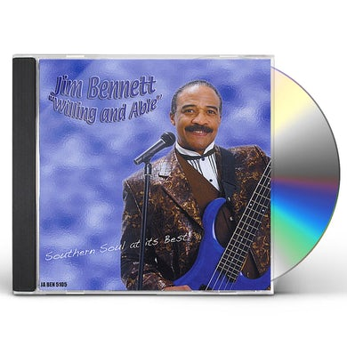 Jim Bennett WILLING AND ABLE CD