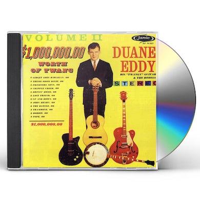 Duane Eddy $1,000,000.00 WORTH OF TWANG 2 CD