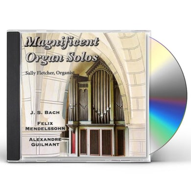 Sally Fletcher MAGNIFICENT ORGAN SOLOS CD