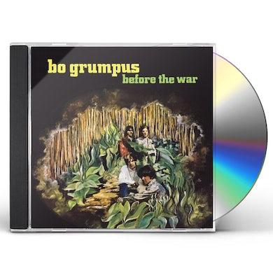 Bo Grumpus BEFORE THE WAR CD
