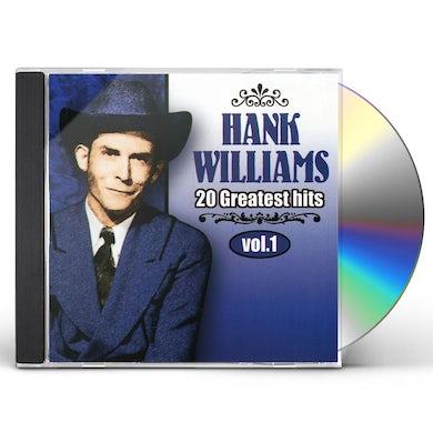 Hank Williams VOL. 1-20 GREATEST HITS CD