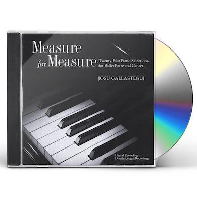 Josu Gallastegui MEASURE FOR MEASURE CD