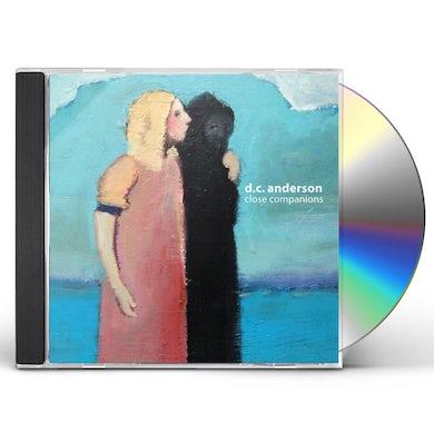 D.C. Anderson CLOSE COMPANIONS CD