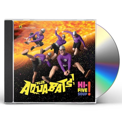 Aquabats HI-FIVE SOUP CD