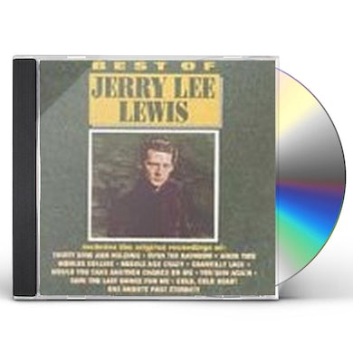 Jerry Lee Lewis BEST OF CD