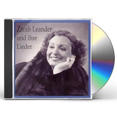 Zarah Leander SINGS LIEDER CD