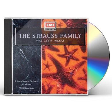 J. Strauss WALTZES CD