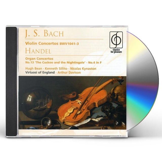 J.S. Bach CONS VN CD
