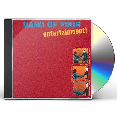 Gang Of Four ENTERTAINMENT CD