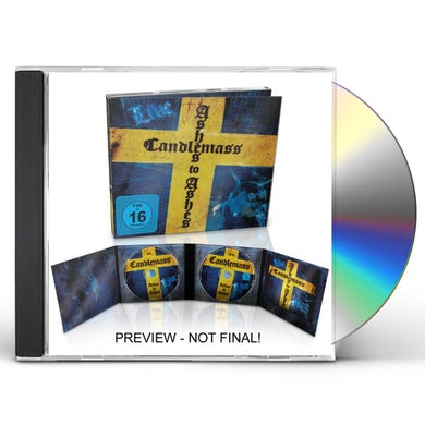 Candlemass ASHES TO ASHES: LIVE CD