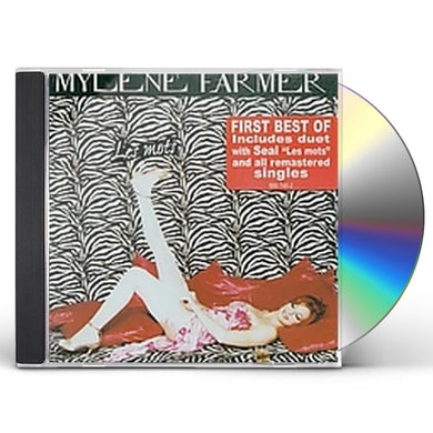 Mylène Farmer BEST OF LES MOTS CD