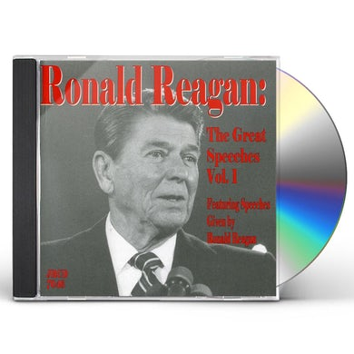 Ronald Reagan GREAT SPEECHES 1 CD