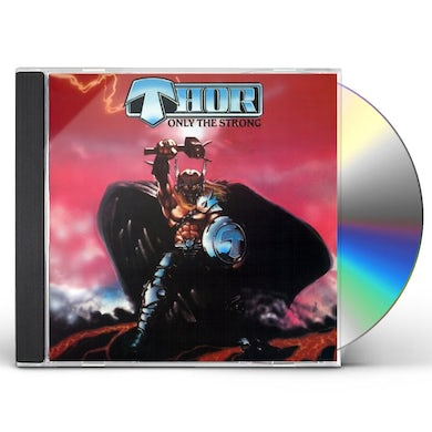 Thor ONLY THE STRONG CD