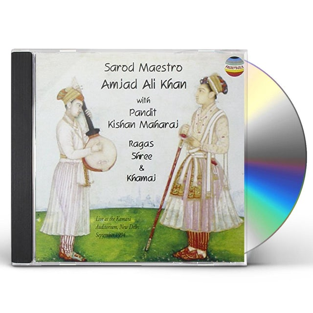 Amjad Ali Khan RAGAS SHREE & KHAMAJ CD