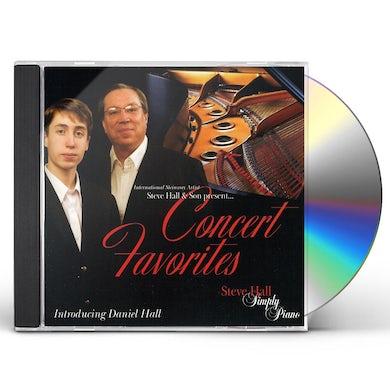 Steve Hall CONCERT FAVORITES CD