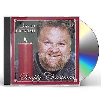 David Jeremiah SIMPLY CHRISTMAS CD