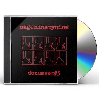DOCUMENT #5 CD