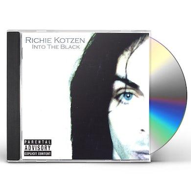 Richie Kotzen INTO THE BLACK CD