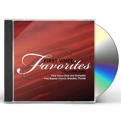 First Voice Choir & Orchestra FIRST VOICE FAVORITES 1 CD