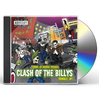 Compilation CLASH OF THE BILLYS: RUMBLE#1 CD