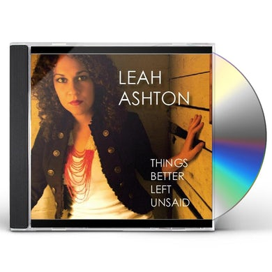 THINGS BETTER LEFT UNSAID CD